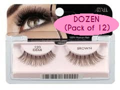 Dozen Ardell 120 Demi Brown Lashes
