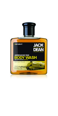 Denman Jack Dean Bay Rum Body Wash 8.4 fl.oz.