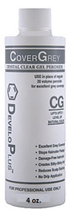 Developlus Cover Grey 20 Volume Gel Developer – 4oz