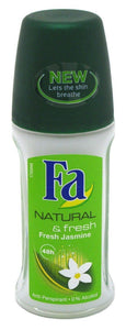 Fa Roll On Deodorant 1.7oz – Natural & Fresh (Fresh Jasmine)
