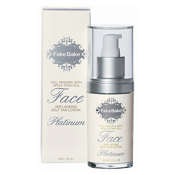 Fake Bake Platinum Face with Cell RENEWAL & Apple Stem Cell