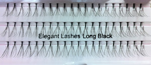 Long Black Flare Generic Lashes