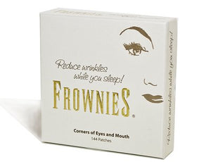 Frownies Anti Wrinkle Patches - Corners of Eyes and Mouth - 144 Ct - w/ FREE SHIPPING!