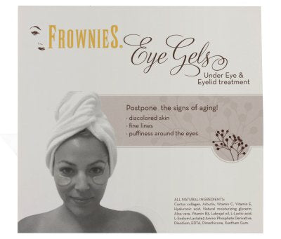 Frownies All Natural Under Eye Treatment Patches - 3 sets of 2 -  w/ FREE SHIPPING!
