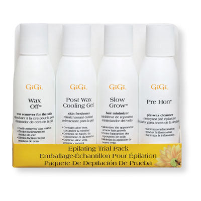 GiGi Epilating Lotion Pre Pack - 4 - 2oz Bottles