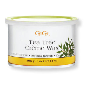GiGi Tea Tree Crème Wax - 14oz Can - BUY 12 OR MORE AND SAVE 20%!