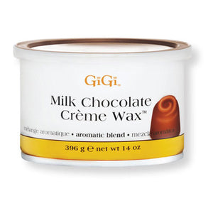 GiGi Milk Chocolate Crème Wax - 14oz Can - BUY 12 OR MORE AND SAVE 20%!