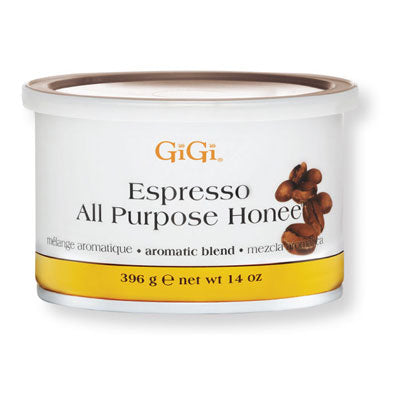 GiGi Espresso Honee Wax - 14oz Can - BUY 12 OR MORE AND SAVE 20%!
