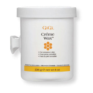 GiGi Crème Wax - Microwave Formula - 8oz - BUY 12 OR MORE AND SAVE 20%!