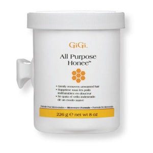 GiGi All Purpose Honee Wax - Microwave Formula - 8oz - BUY 12 OR MORE AND SAVE 20%!