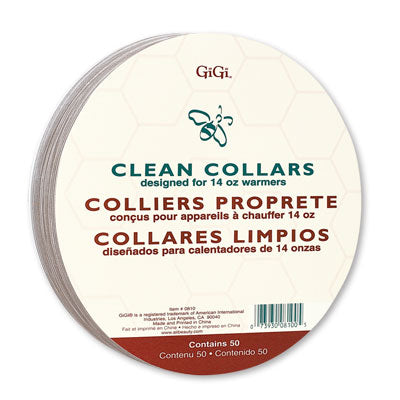 GiGi Clean Warmer Collars 50 Ct