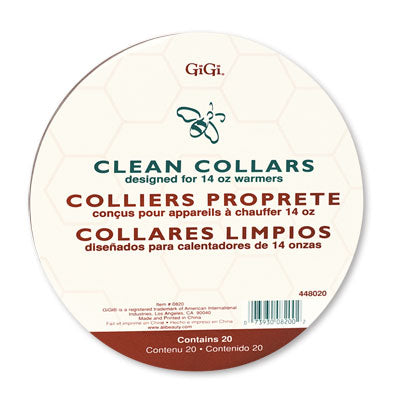 GiGi Clean Warmer Collars 20 Ct
