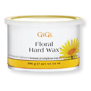 GiGi Floral Hard Wax - 14oz Can - BUY 12 OR MORE AND SAVE 20%!