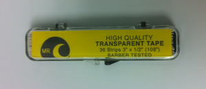 "1/2"" Transparent Double Sided Tape by Mr. ""C"""