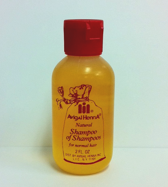 Avigal Henna Natural Shampoo 2 fl oz