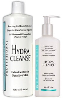 Pharmagel Hydra Cleanse Gel Facial Cleanser - Professional Size 32oz + 8oz