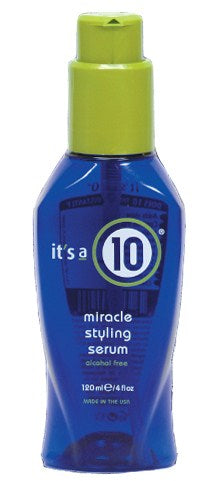 it's a 10 Miracle Styling Serum 4oz