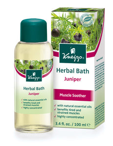 Juiper Muscle Soother Bath Oil by Kneipp