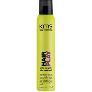 KMS Hair Play Paste Up Spray 6.5oz
