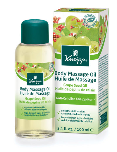 Grape Seed Body Massage Oil by Kneipp