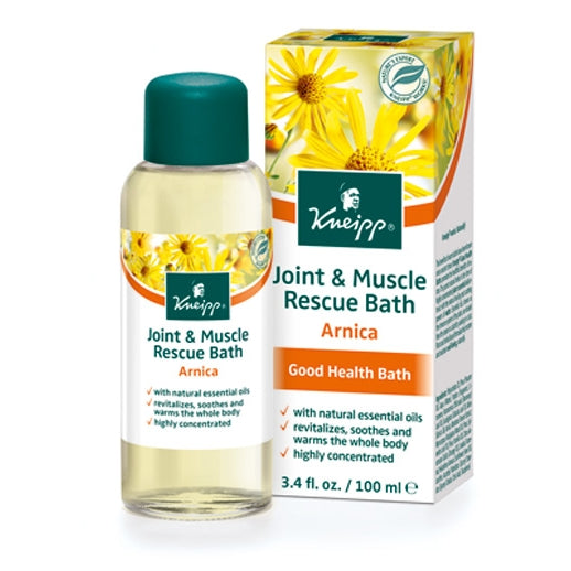 Kneipp Arnica Joint & Muscle Rescue Herbal Bath Oil 3.4oz