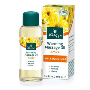 Arnica Warming Massage Oil by Kneipp