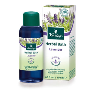 Kneipp Lavender Balancing Herbal Bath Oil 3.4oz