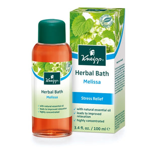 Kneipp Melissa Stress Relief Herbal Bath Oil 3.4oz -
