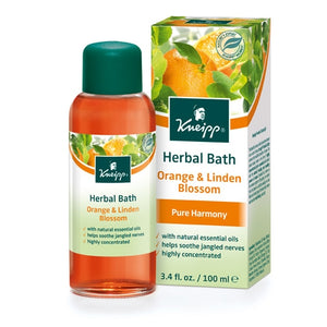 Kneipp Orange & Linden Blossom Pure Harmony Herbal Bath Oil 3.4oz
