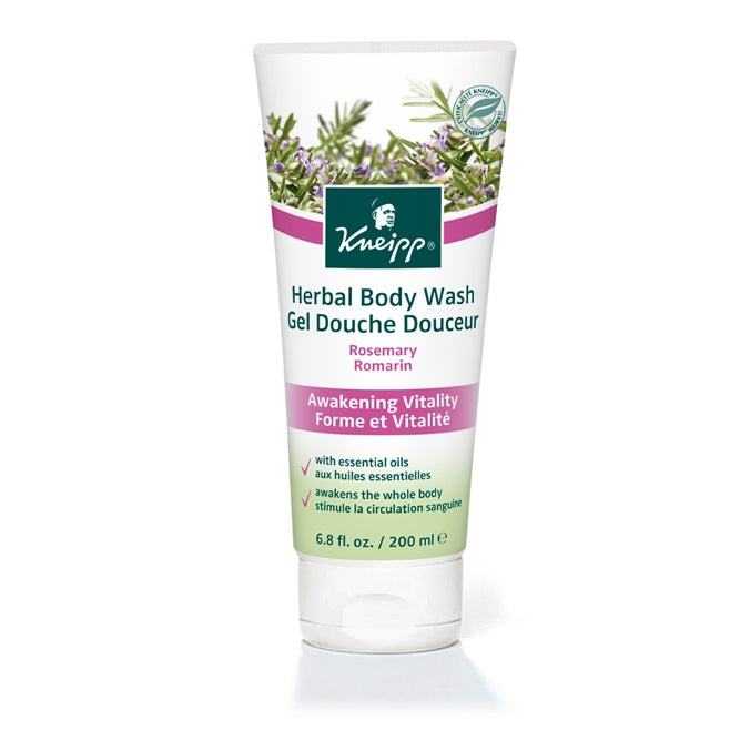 Rosemary Awakening Vitality Body Wash by Kneipp