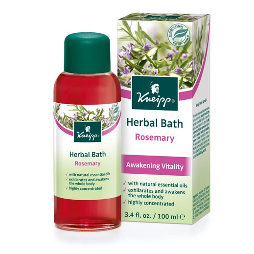 Kneipp Rosemary Awakening Vitality Herbal Bath Oil 3.4oz (DISCONTINUED)