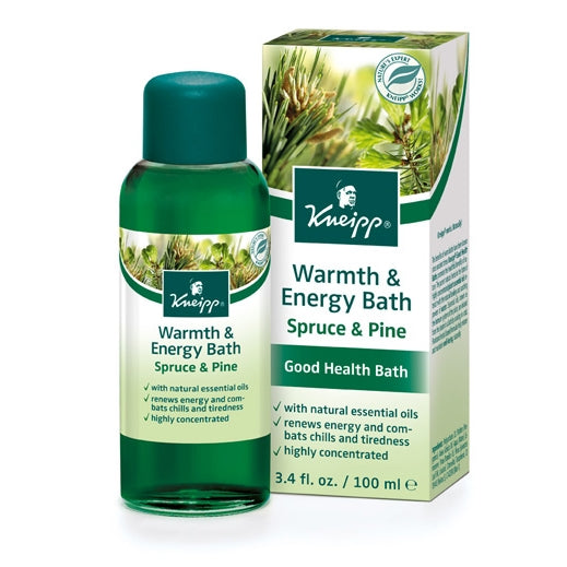 Kneipp Spruce & Pine Warmth & Energy Herbal Bath Oil 3.4oz