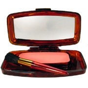 La Femme Glow-On Rouge Kit (Round Pan in Pot w/ screw on Lid)