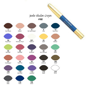 La Femme Jumbo Eye Shadow Crayon - Choose your shade!
