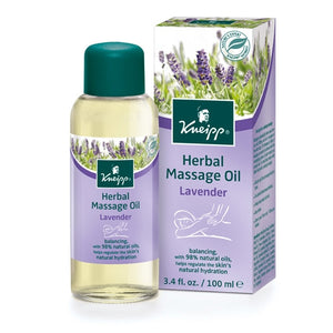 Lavender Herbal Massage Oil by Kneipp
