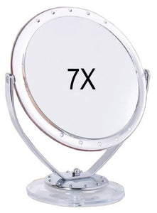 Rucci M749 7x Acrylic Stand Mirror