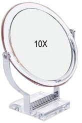 Rucci M750 10x Acrylic Stand Mirror