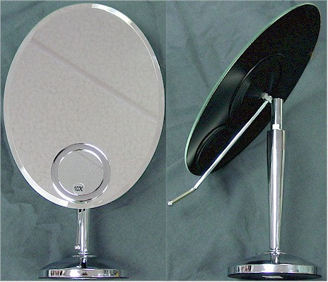 Rucci M834 1x Vanity Mirror with Fixed 10x Spot Mirror