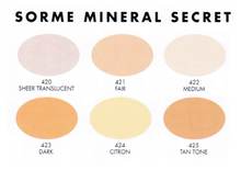 Sormé Mineral Secret Loose Finishing Powder