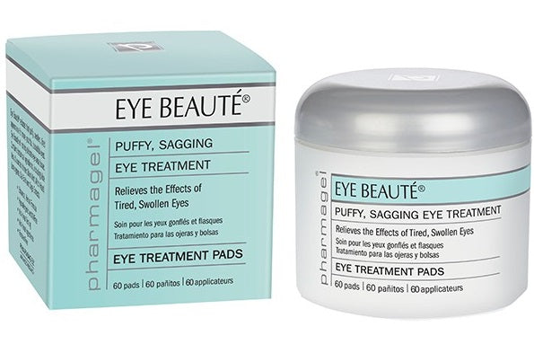Pharmagel Complexe Eye Beaute Puffy Eye Treatment Pads - 60ct