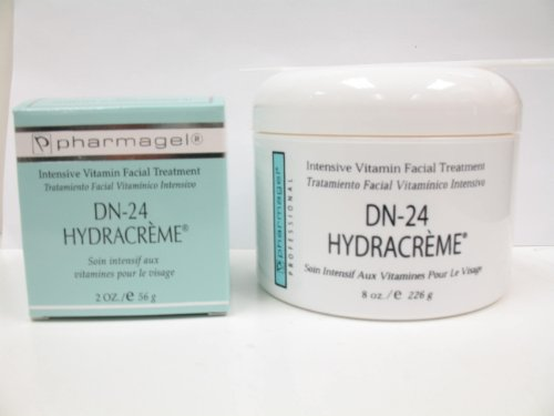 Pharmagel DN-24 Hydracreme Intensive Vitamin Moisturizer - Professional Kit - 8oz + 2oz FREE