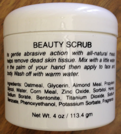 Rozelle Beauty Scrub 4oz.