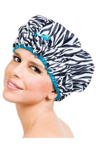 Betty Dain Sassy Stripes Designer Shower Cap