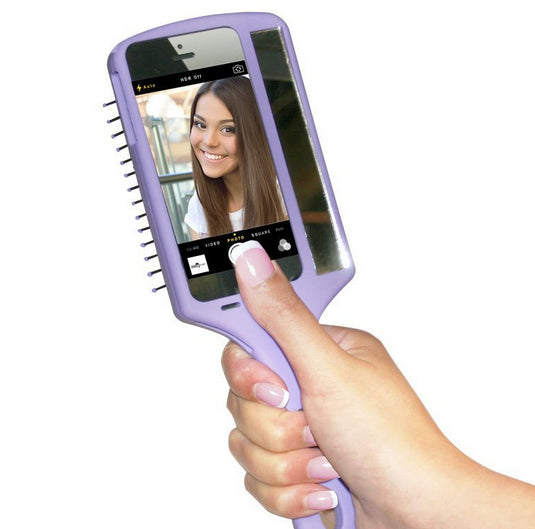 Wet Brush Selfie Brush - iPhone 5 & iPhone 5S - Purple