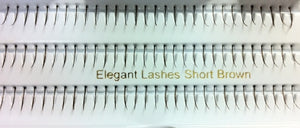 Single Short Brown Generic Lashes