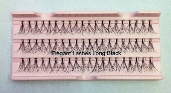 Long Black Super Flare Generic Lashes