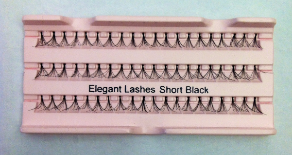 Short Black Super Flare Generic Lashes
