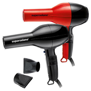 Super Solano 232 1875 Watt Professional Hair Dryer - Red/Black  FREE SHIPPING!