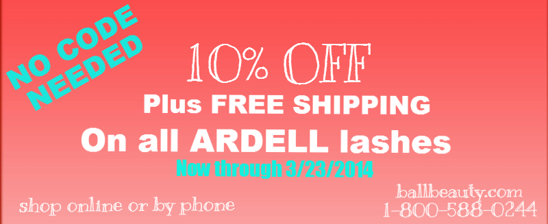 Ardell 10% OFF no code needed