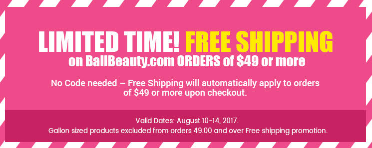 Spend $49 or more and get free shipping